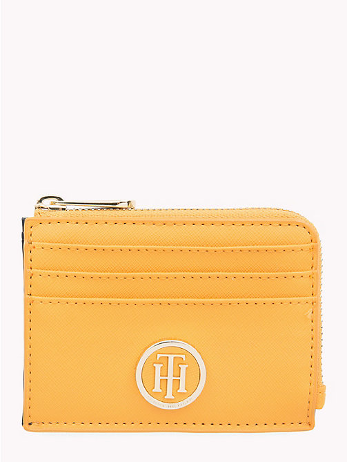 TOMMY HILFIGER Monogram Cardholder - SUNFLOWER - TOMMY HILFIGER Wallets - main image