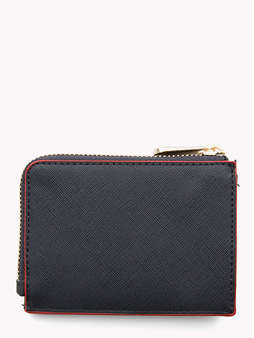 TOMMY HILFIGER Monogram Cardholder - TOMMY NAVY/ RED EDGE PAINT - TOMMY HILFIGER Wallets - detail image 1