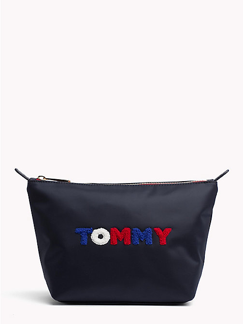 TOMMY HILFIGER Print Washbag - TOMMY NAVY/ TOMMY PRINT - TOMMY HILFIGER Make-up Bags - main image