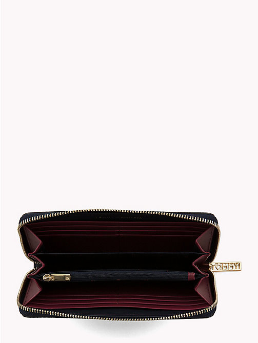 TOMMY HILFIGER Tommy Core Wallet - TOMMY NAVY/ BURGUNDY - TOMMY HILFIGER Black Friday Women - detail image 1