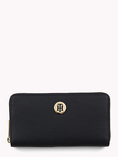 TOMMY HILFIGER Tommy Core Wallet - TOMMY NAVY/ BURGUNDY - TOMMY HILFIGER Black Friday Women - main image