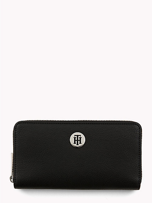 TOMMY HILFIGER Tommy Core Wallet - BLACK/ SILVER FILIGREE - TOMMY HILFIGER Black Friday Women - main image