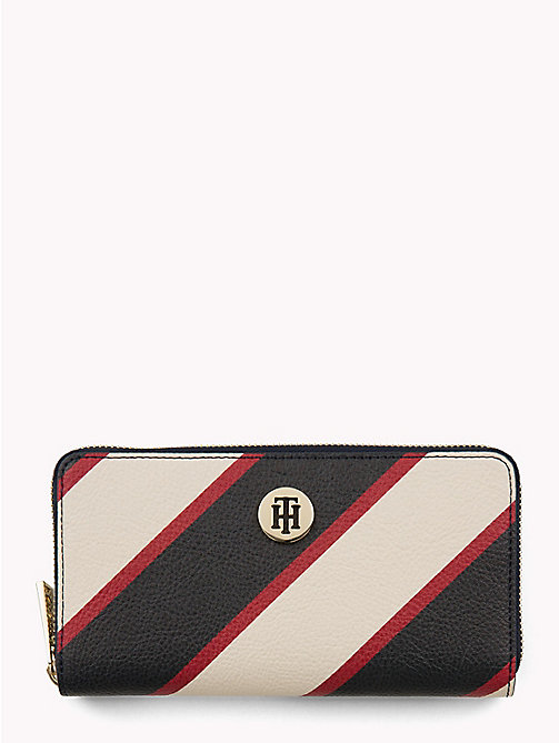 TOMMY HILFIGER Tommy Core Wallet - 904-TIE STRIPE - TOMMY HILFIGER Black Friday Women - main image