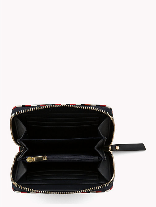 TOMMY HILFIGER Signature Compact Leather Wallet - TOMMY NAVY - TOMMY HILFIGER Bags & Accessories - detail image 1