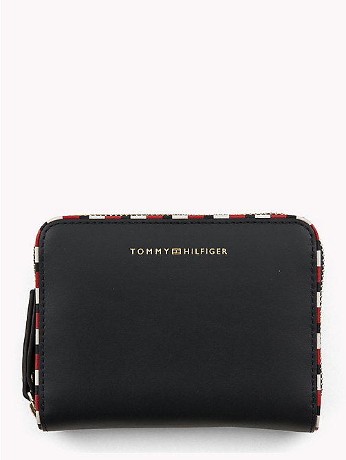 TOMMY HILFIGER Signature Compact Leather Wallet - TOMMY NAVY - TOMMY HILFIGER Bags & Accessories - main image