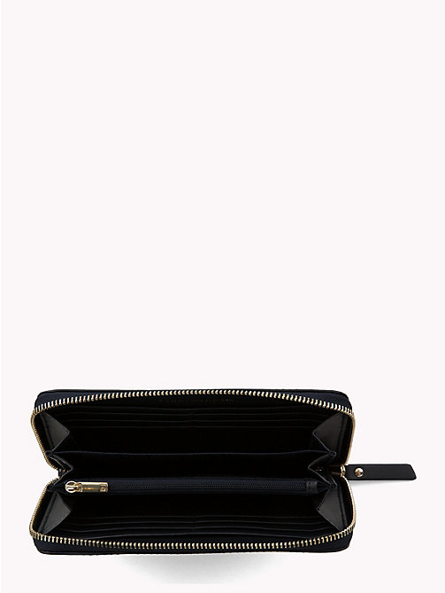 TOMMY HILFIGER Large Logo Leather Wallet - TOMMY NAVY - TOMMY HILFIGER Black Friday Women - detail image 1