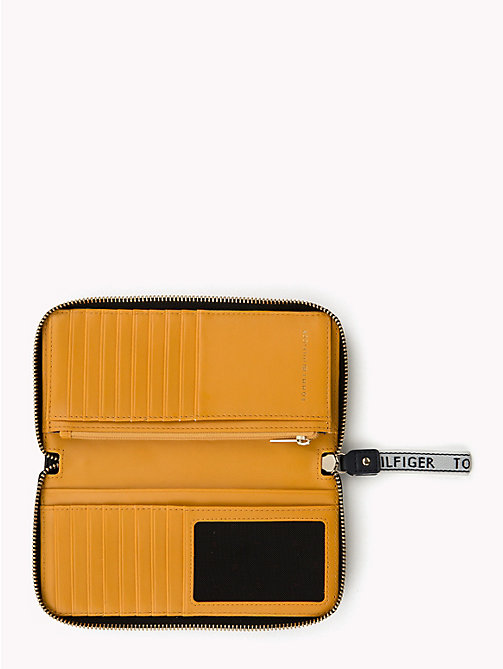 TOMMY HILFIGER Large Logo Card Wallet - BLACK - TOMMY HILFIGER Black Friday Women - detail image 1