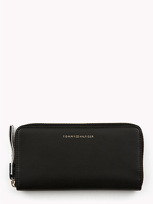 TOMMY HILFIGER Large Logo Card Wallet - BLACK - TOMMY HILFIGER Bags & Accessories - main image