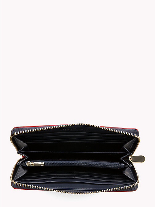 TOMMY HILFIGER Large Monogram Wallet - TOMMY RED/ CORP STRIPE - TOMMY HILFIGER Bags & Accessories - detail image 1