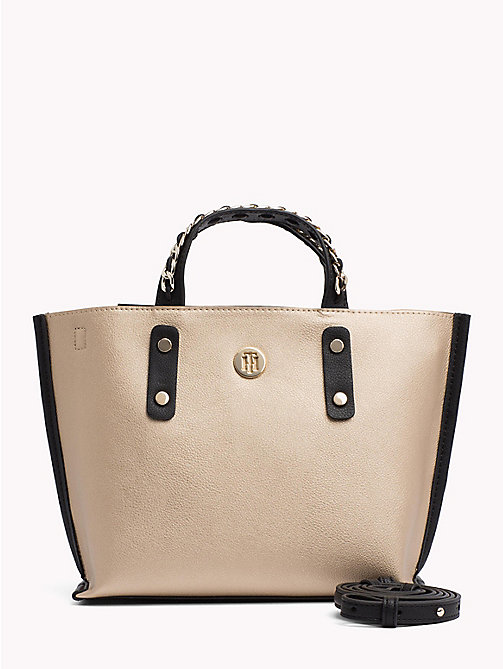 TOMMY HILFIGER Kompakte Tote-Bag - GOLD - TOMMY HILFIGER Bags & Accessories - main image