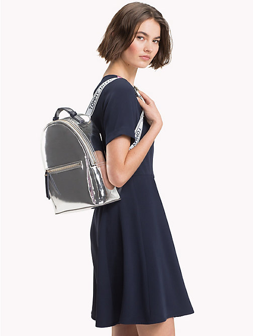 TOMMY HILFIGER Metallic-Rucksack - METALLIC/ TOMMY NAVY - TOMMY HILFIGER Bags & Accessories - main image 1