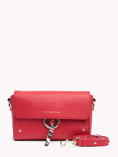 TOMMY HILFIGER Heritage Leather Crossover - TOMMY RED - TOMMY HILFIGER Crossbody Bags - main image