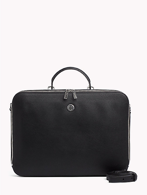 TOMMY HILFIGER Tommy Core Laptop Bag - BLACK - TOMMY HILFIGER Satchel Bags - main image