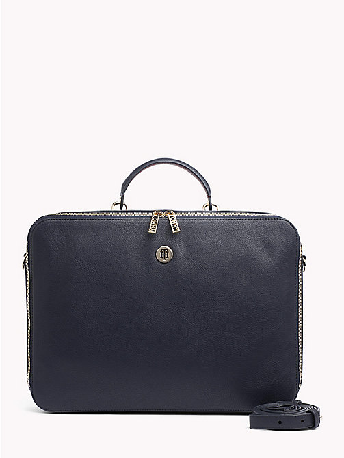 TOMMY HILFIGER Tommy Core Laptop Bag - TOMMY NAVY - TOMMY HILFIGER Satchel Bags - main image