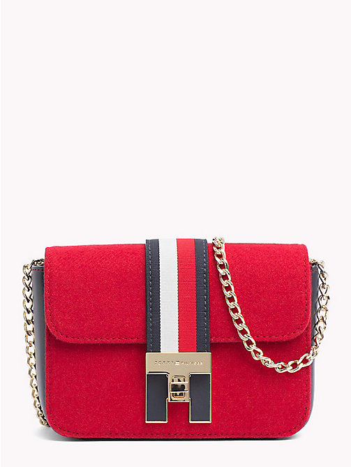 TOMMY HILFIGER Heritage Mini Crossover Bag - TOMMY RED - TOMMY HILFIGER NEW IN - main image