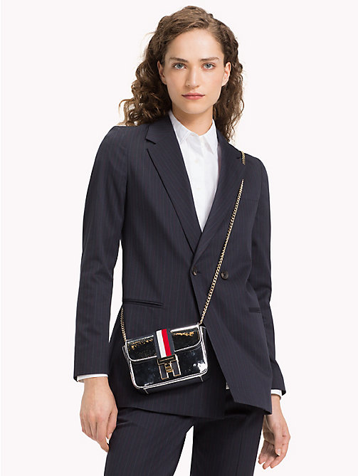 TOMMY HILFIGER Mini Metallic Crossover Bag - METALLIC - TOMMY HILFIGER Crossbody Bags - detail image 1