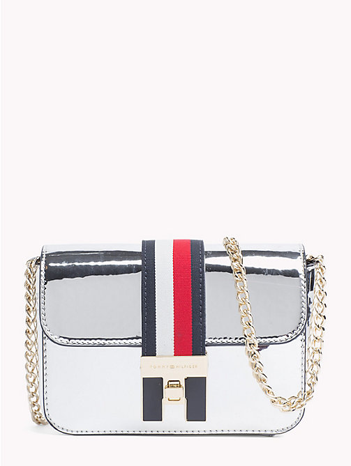 TOMMY HILFIGER Mini Metallic Crossover Bag - METALLIC - TOMMY HILFIGER Crossbody Bags - main image