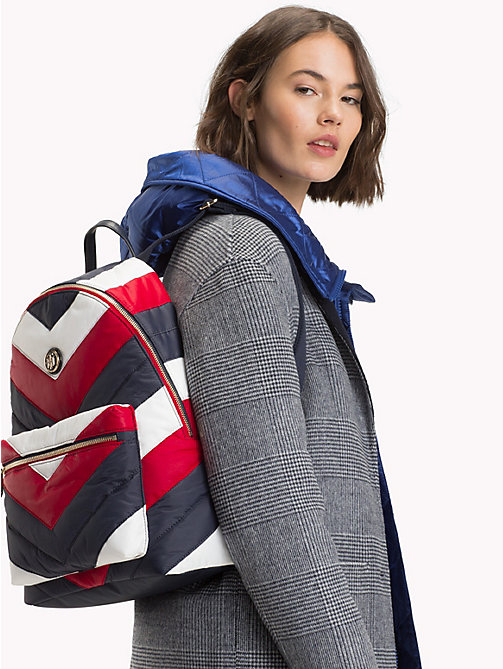 TOMMY HILFIGER Chevron Puffer Backpack - CORPORATE - TOMMY HILFIGER Backpacks - detail image 1