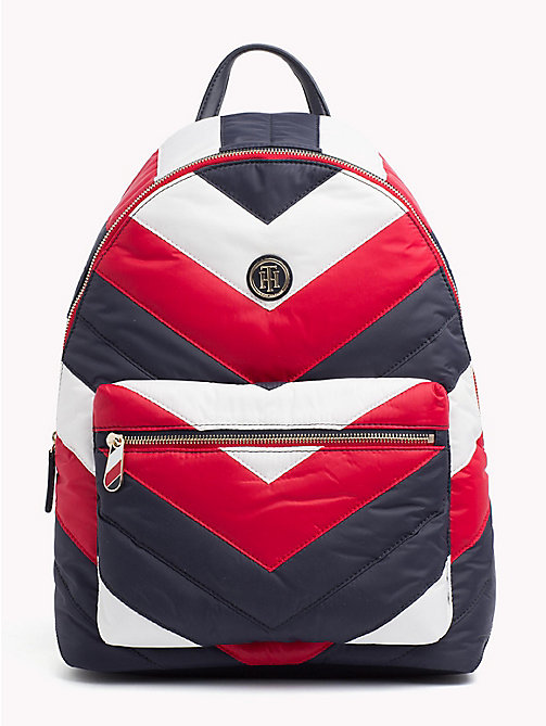 TOMMY HILFIGER Chevron Puffer Backpack - CORPORATE - TOMMY HILFIGER Backpacks - main image