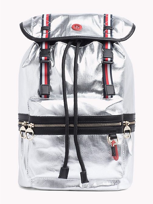 TOMMY HILFIGER Mirror Metallic Backpack - METALLIC - TOMMY HILFIGER Backpacks - main image