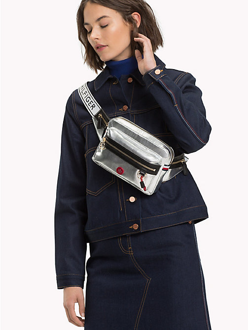 TOMMY HILFIGER Mirror Metallic Bumbag - METALLIC - TOMMY HILFIGER Bags & Accessories - detail image 1
