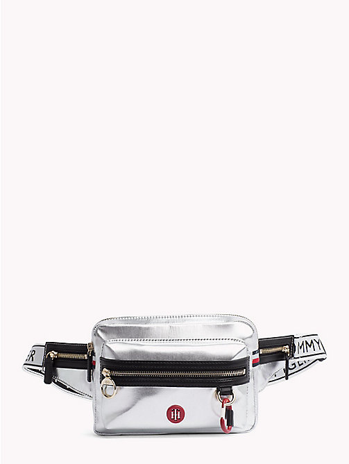 TOMMY HILFIGER Mirror Metallic Bumbag - METALLIC - TOMMY HILFIGER Crossbody Bags - main image