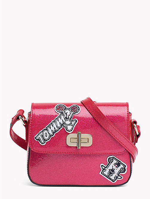 TOMMY HILFIGER Kids' Mini Me Crossover Bag - PINK FLAMBE / PATCHES - TOMMY HILFIGER Girls - main image