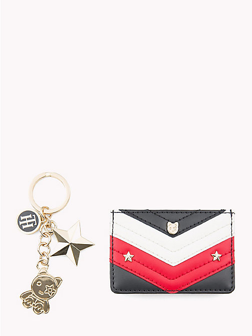 TOMMY HILFIGER Mascot Cardholder Gift Set - CORPORATE - TOMMY HILFIGER Wallets & Keyrings - main image
