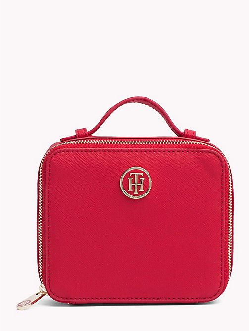 TOMMY HILFIGER Mirror Vanity Case - TOMMY RED - TOMMY HILFIGER Make-up Bags - main image