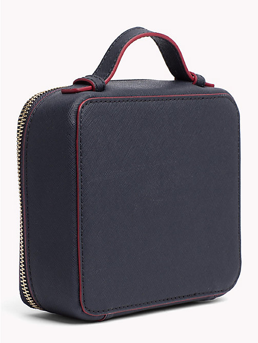 TOMMY HILFIGER Mirror Vanity Case - TOMMY NAVY/ RED EDGE PAINT - TOMMY HILFIGER Make-up Bags - detail image 1