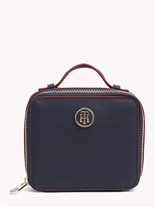 TOMMY HILFIGER Mirror Vanity Case - TOMMY NAVY/ RED EDGE PAINT - TOMMY HILFIGER Make-up Bags - main image