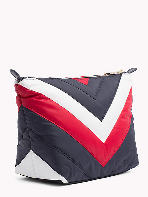 TOMMY HILFIGER Chevron Puffer Washbag - CHEVRON STRIPE - TOMMY HILFIGER Make-up Bags - detail image 1