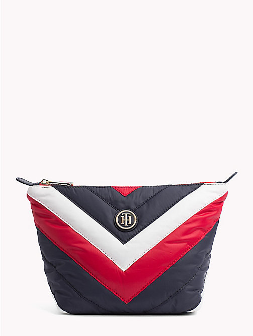 TOMMY HILFIGER Chevron Puffer Washbag - CHEVRON STRIPE - TOMMY HILFIGER Make-up Bags - main image