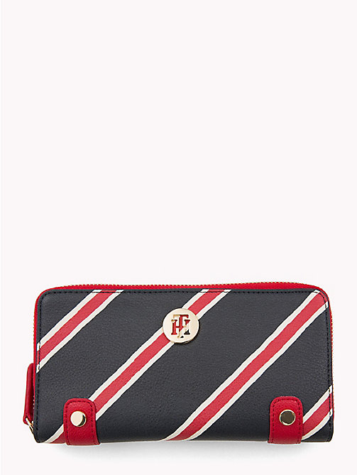TOMMY HILFIGER Monogram Wallet - CORP PAINTED STRIPE/ TOMMY RED - TOMMY HILFIGER Wallets - main image