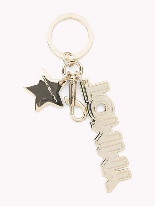 TOMMY HILFIGER Tommy Hilfiger Logo Key Fob - CORPORATE MIX - TOMMY HILFIGER Keyrings - detail image 1