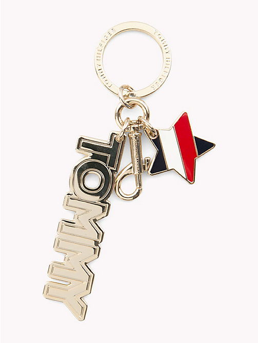 TOMMY HILFIGER Tommy Hilfiger Logo Key Fob - CORPORATE MIX - TOMMY HILFIGER Keyrings - main image