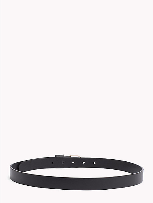 TOMMY HILFIGER Classic Leather Belt - BLACK - TOMMY HILFIGER Black Friday Women - detail image 1