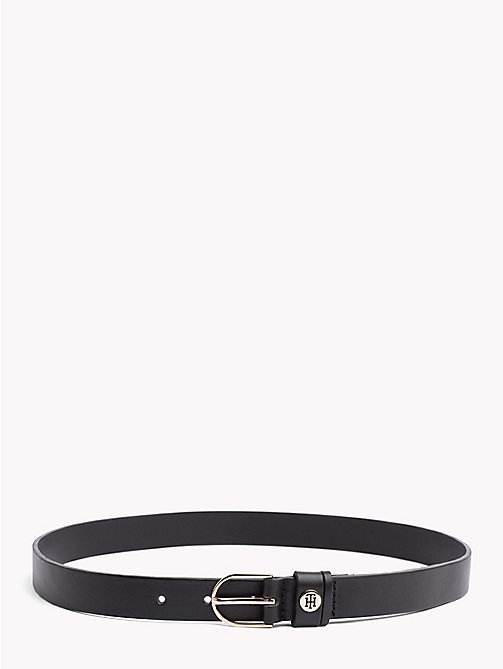 TOMMY HILFIGER Classic Leather Belt - BLACK - TOMMY HILFIGER Black Friday Women - main image