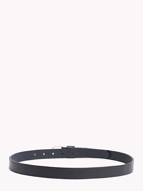 TOMMY HILFIGER Classic Leather Belt - TOMMY NAVY - TOMMY HILFIGER Belts - detail image 1