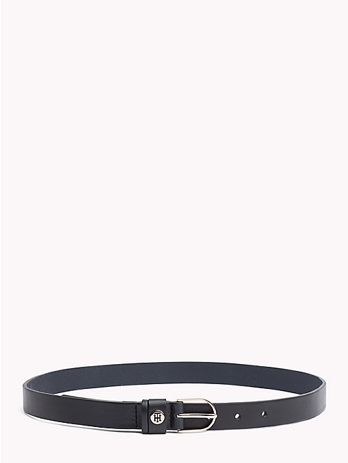 TOMMY HILFIGER Classic Leather Belt - TOMMY NAVY - TOMMY HILFIGER Black Friday Women - main image