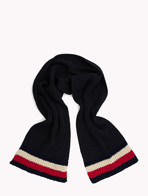 TOMMY HILFIGER Chunky Knit Signature Scarf - TOMMY NAVY -  Bags & Accessories - detail image 1