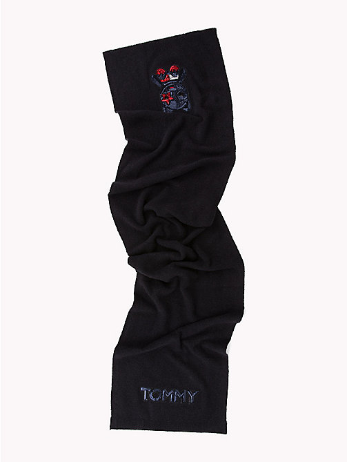 TOMMY HILFIGER Luxury Mascot Knit Scarf - CORPORATE - TOMMY HILFIGER NEW IN - detail image 1