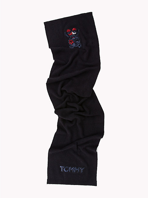 TOMMY HILFIGER Luxury Mascot Knit Scarf - CORPORATE - TOMMY HILFIGER Scarves - detail image 1
