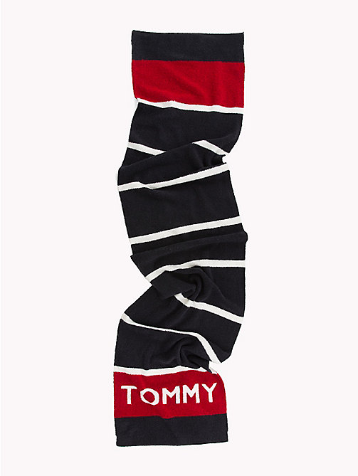 TOMMY HILFIGER Gestreifter Schal - CORPORATE - TOMMY HILFIGER NEW IN - main image 1