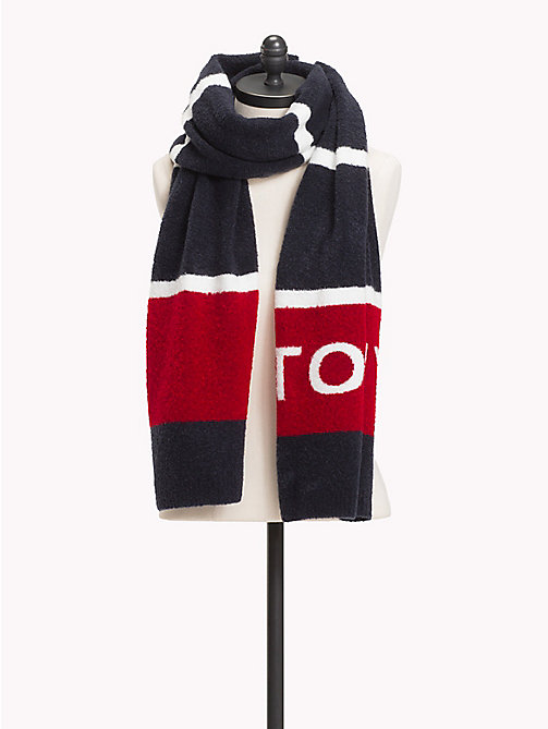 TOMMY HILFIGER Gestreepte sjaal - CORPORATE - TOMMY HILFIGER Winter Musthaves - main image