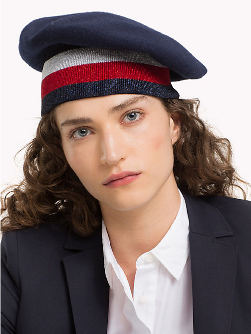 TOMMY HILFIGER Tommy Hilfiger Rib Beret - CORPORATE - TOMMY HILFIGER Winter Warmers - detail image 1