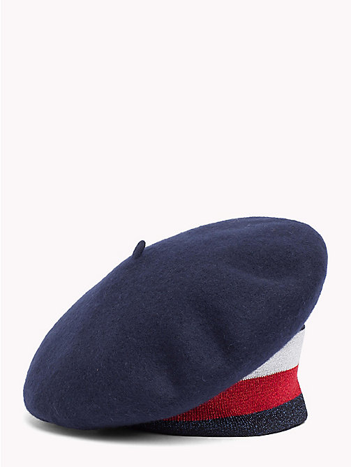 TOMMY HILFIGER Tommy Hilfiger Rib Beret - CORPORATE - TOMMY HILFIGER Winter Warmers - main image