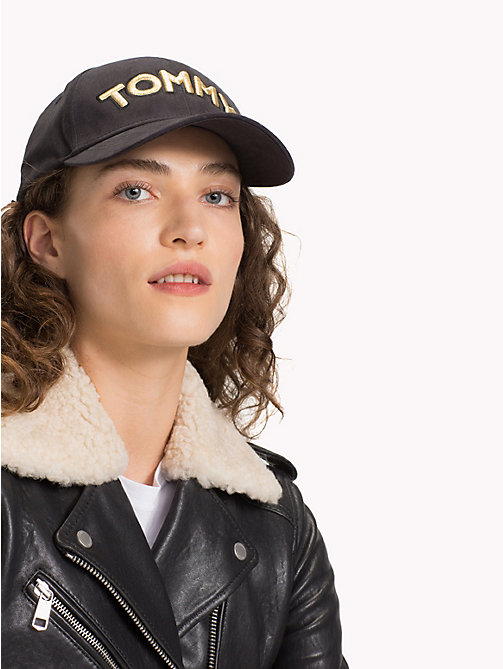 TOMMY HILFIGER Logo Patch Cap - BLACK - TOMMY HILFIGER Bags & Accessories - detail image 1