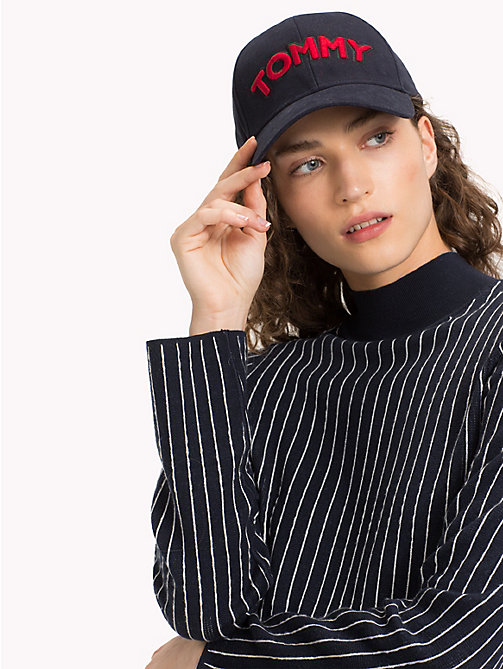 TOMMY HILFIGER Cap mit Logo-Patch - TOMMY NAVY - TOMMY HILFIGER Bags & Accessories - main image 1