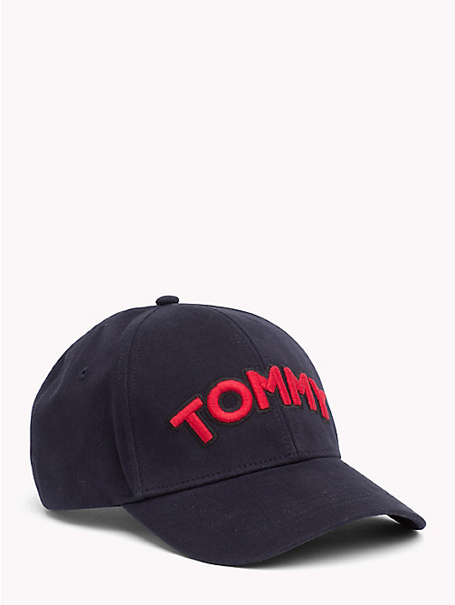 TOMMY HILFIGER Cap mit Logo-Patch - TOMMY NAVY - TOMMY HILFIGER Bags & Accessories - main image